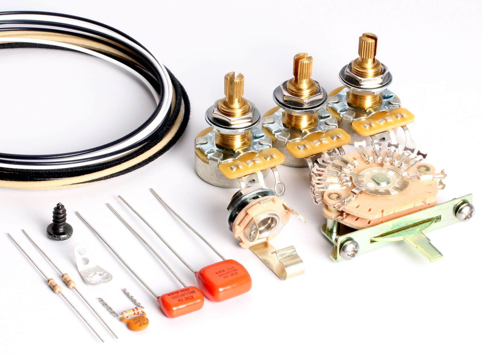 Toneshaper Wiring Kit  Stratocaster  Hh1l  Big Apple