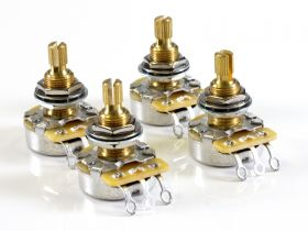 CTS Pot Pack for Gibson, 500K Audio, 2 Volume, 2 Tone