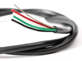 Wire, 4-Conductor, 28 AWG