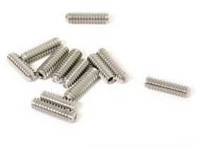 ToneShapers Kit, Strat String Height Screws, Stainless, Vintage