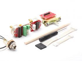 NG02 Kit, 5-Way Top-Rout, VT, Solid-Shaft