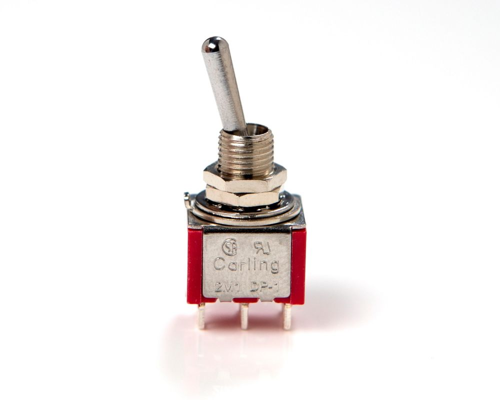 Carling DPDT Mini Toggle Switch