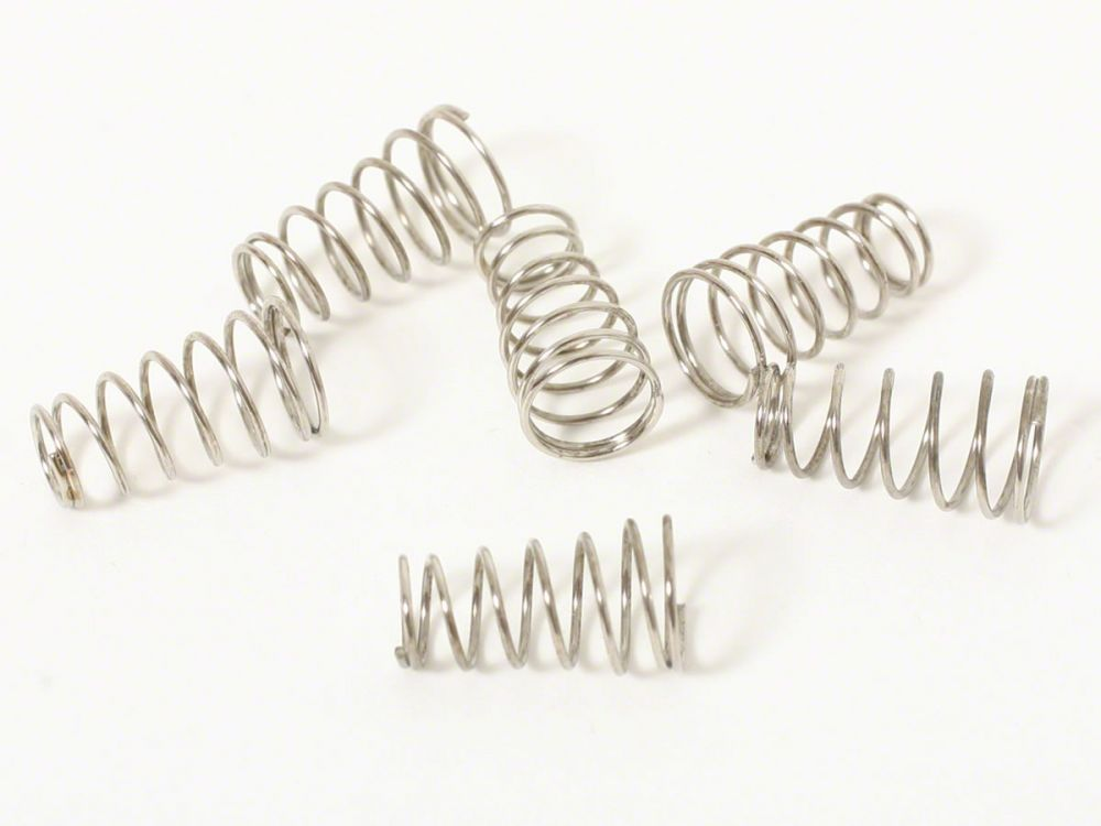ToneShapers Kit, Single-Coil Springs, Conical (6)